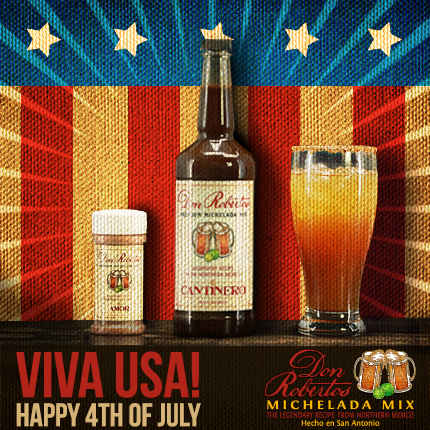 Don Robertos Michelada Mix - Hecho en San Antonio
